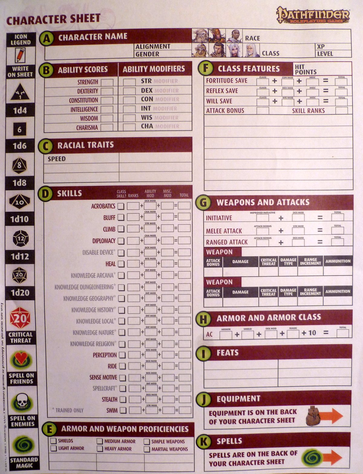 Dungeons & Dragons Reveals Its Latest Character Sheet - Update