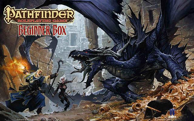 "Playing the Pathfinder Beginner Box Adventure ""Black Fang"