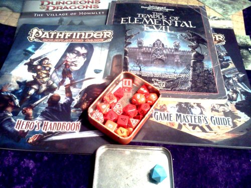 The Temple of Elemental Evil with Pathfinder Beginner Box