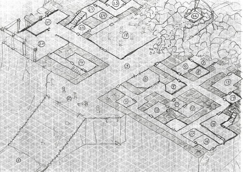 a couple of dungeon maps