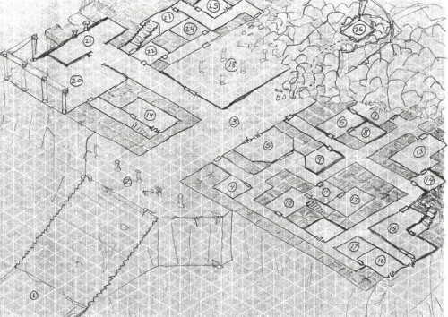 Here be the Ruined Fortress Level 1, draft 2
