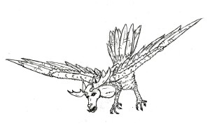 The Fearsome Hart Bird