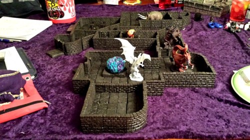 Player built the dungeon, I added appropriate encounters.