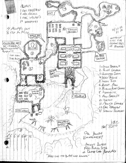 Orc Hillside Encampment