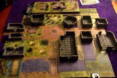 The town of Phandelver from D&D5 Starter Set