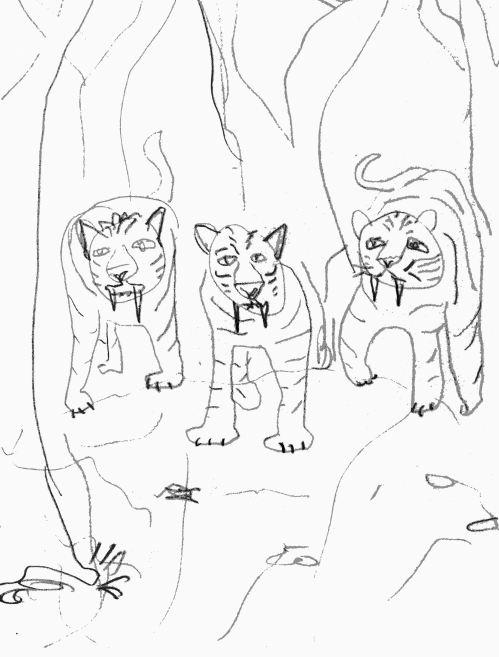 Cave Magic 1-3: Sabretooth Companions
